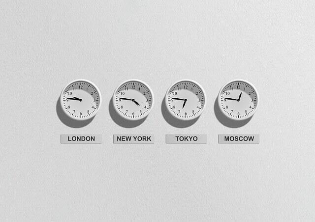 世界の時計